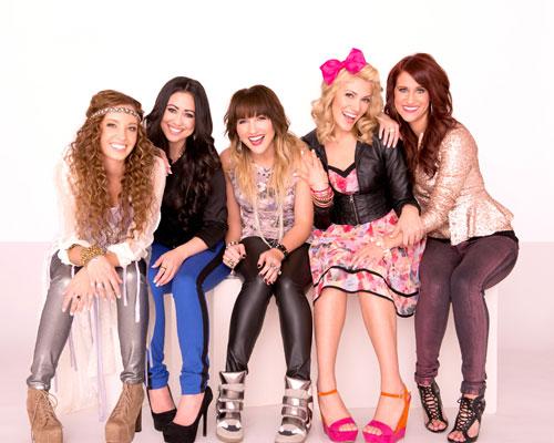 1 Girl Nation (L-R: Lauryn Taylor, Kayli, Carmen, Lindsey, Kelsey)
