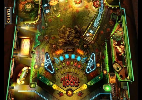 Sony's New Pinball Game Includes Rock Band RED and a Rocking Soundtrack post image