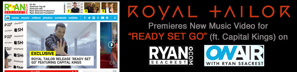 Royal Tailor on RyanSeacrest.com