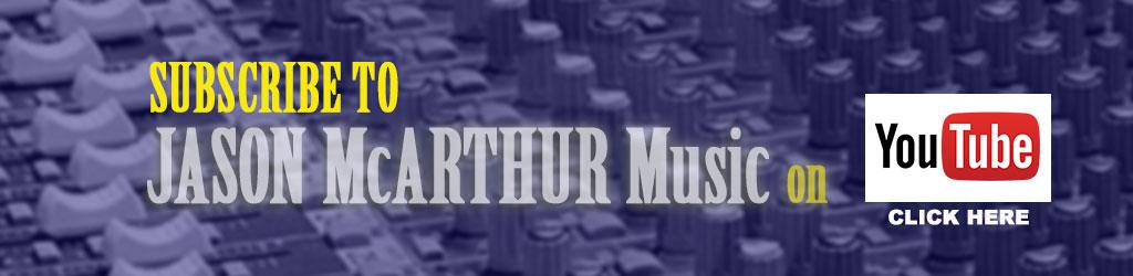 Subscribe to Jason McArthur Music on YouTube